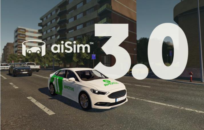 AImotive推出世界首台经过ISO26262认证的新一代模拟器aiSim 3.0