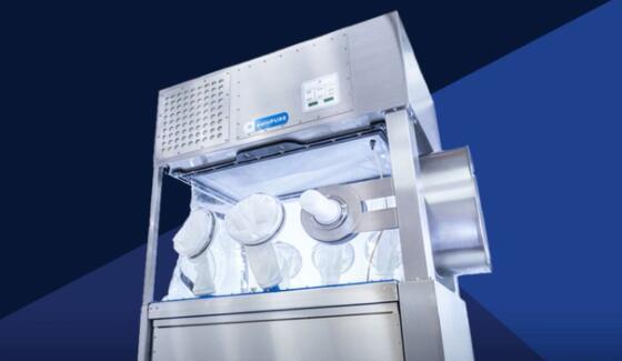 ILC Dover 推出了 Solo PURE 柔性无菌隔离器 可以使用VHP进行就地消毒