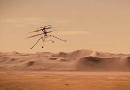 """""""机智""""号无人机完成火星三飞,飞行高度5米,飞行距离为往返100米"""