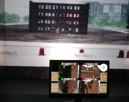 基于AR技术界面,允许用户通过头戴式显示器(HMD)控制无人机