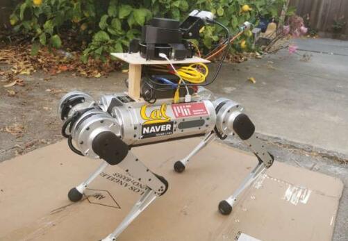 机器人导盲犬,可以给视障人士提供安全导航
