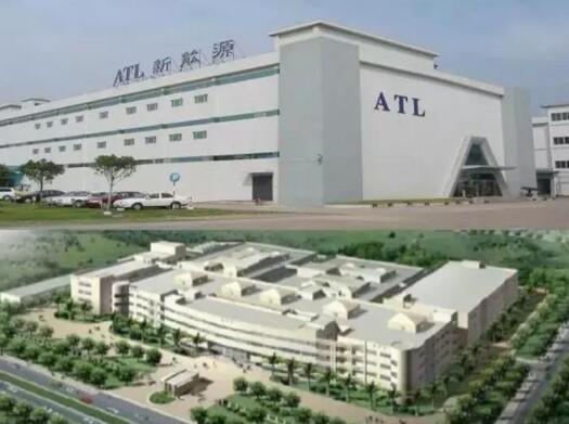 宁德时代携手ATL投建两家合资公司 专攻中型电池市场