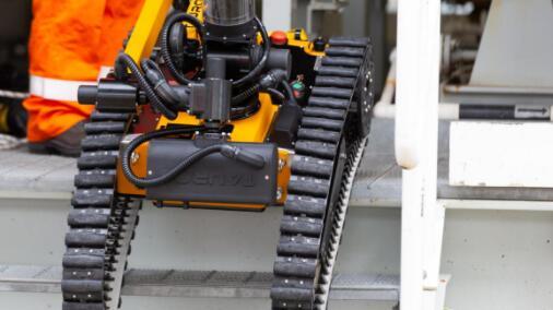 海上平台自主机器人将进行首次测试