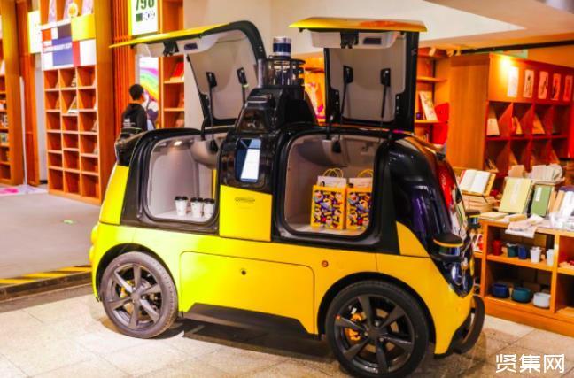 北京顺义,美团已经开始无人驾驶送外卖啦!