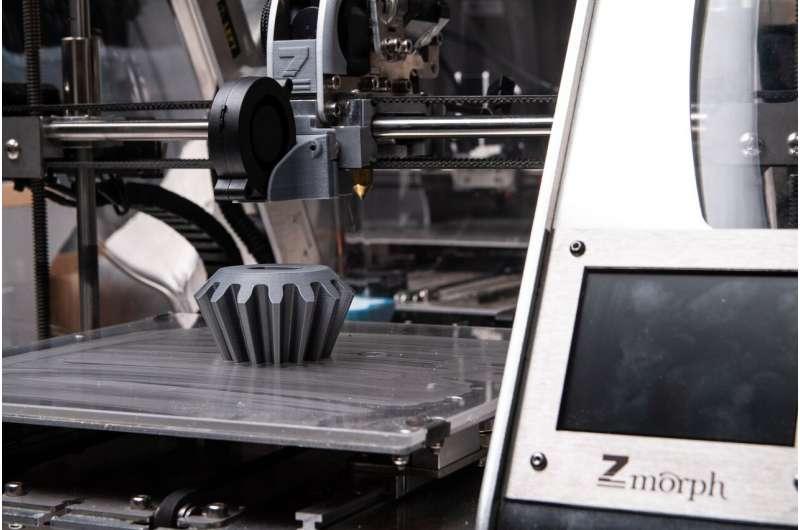 研究人员可以使用多种材料和再生复合材料来进行3D打印