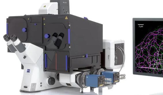重大突破!新的图像重建算法SIM²使显微镜的分辨率提高了一倍