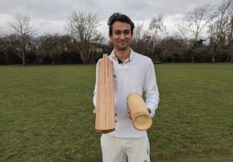 剑桥大学的研究证明竹制的板球拍比木制的更环保,能提供更好的最佳击球点