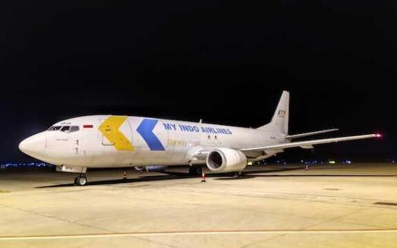 海南自贸港首条第五航权航线顺利开通 由印尼美印航空和菜鸟合作开通