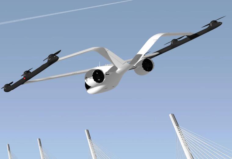 Volocopter推出固定翼飞行出租车,可以自动导航整个飞行过程