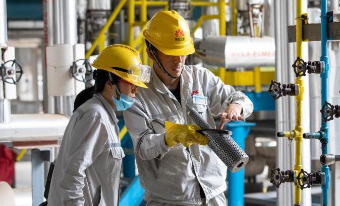 延长石油首个油田伴生气项目产品全部达到国标!