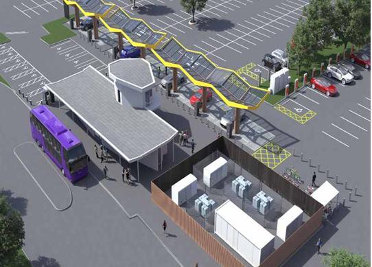 特斯拉和合作伙伴在英国牛津安装欧洲最强大的电动汽车充电器