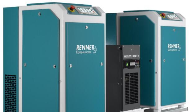 新型压缩机可连接到空气接收器和制冷干燥器