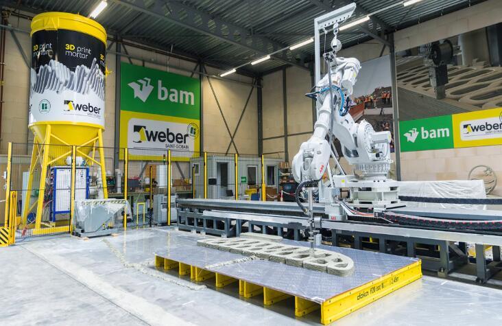 机器人自动化可提高建筑工地的生产力、效率和安全性