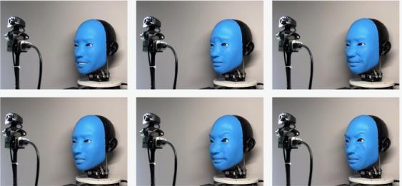 研究人员使用AI教机器人做出面部表情 助力构建更好的信任