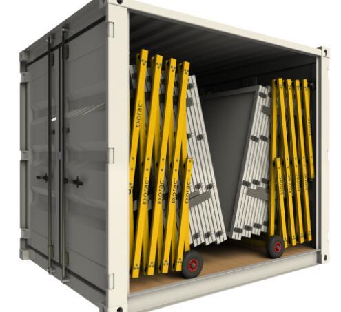 二號站登錄測速瑞士創企PWRstation開發基于集裝箱的太陽能電池運輸系統 一次可容納30個太陽能電池板
