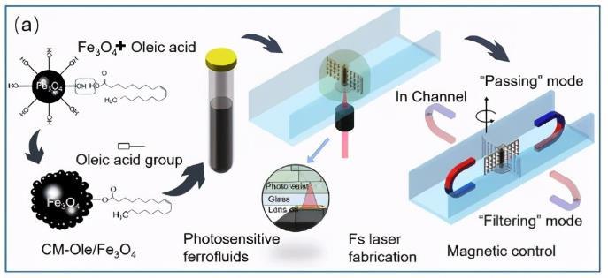 新材料:用于双光子聚合制造的3D打印旋转微过滤器