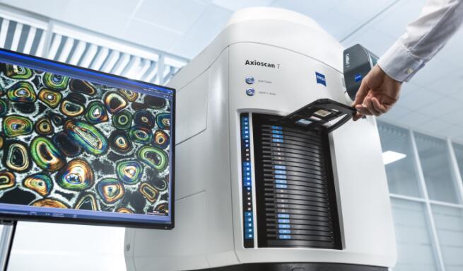 蔡司扩展了自动化显微镜的可能性,数字化系统提供机器学习数据分析