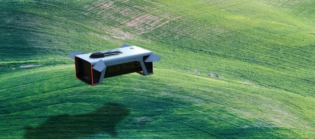 天上飛的不一定是飛機,還有汽車