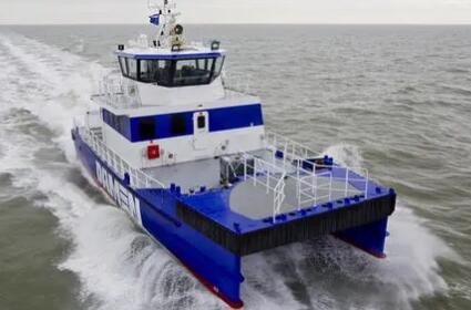 英國推出海上風電無人駕駛船 可減少60%勘查成本