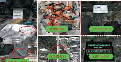 江淮蔚来工厂的车身跟踪系统为后期车身跟踪建设提供了范例