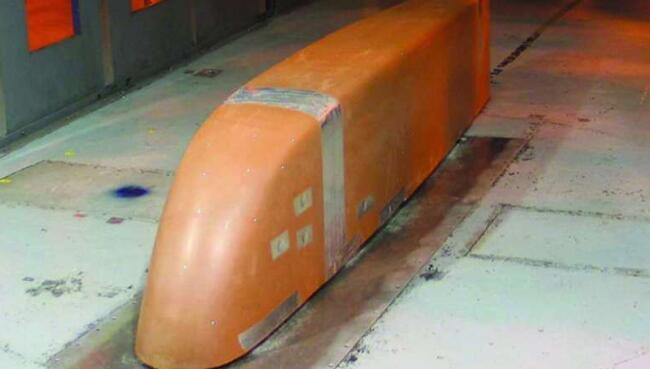工程师设计了突破性的重型车辆:减少侧风中的车身轴阻力,大大提高了燃油效率