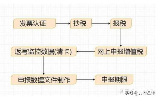 申报纳税的流程详解,纳税申报的注意事项