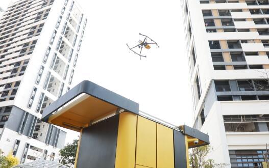 美團發布無人機外賣計劃 建立城市低空物流運營示范中心