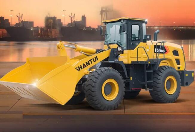 山推推出5噸級主力裝載機 動力強勁適用港口、碼頭、礦山等各類重載工況