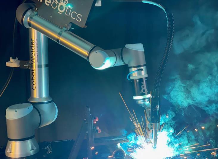 焊接机器人可通过智能手机应用程序编程