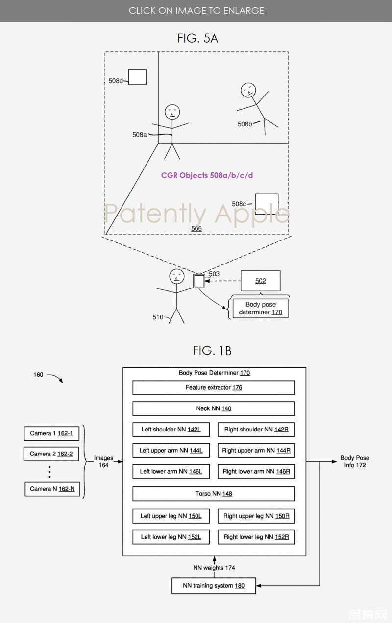 苹果HMD新专利:可根据监测用户的身体动作来移动用户的虚拟化身