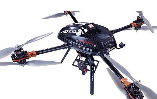 基于赫氏碳纤维复合材料的新型轻型无人机来了!