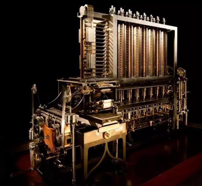 机械史上最复杂的巅峰之作:差分机,这才是最强大脑