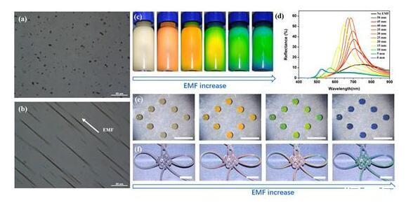 韩国开发出一种光子晶体油墨,混一混就能调色
