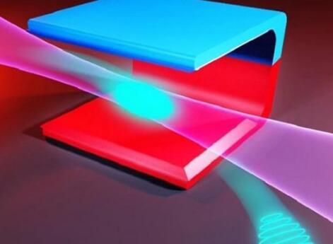 二极磁铁中的激光束实现突破,具有极高亮度的短波辐射能