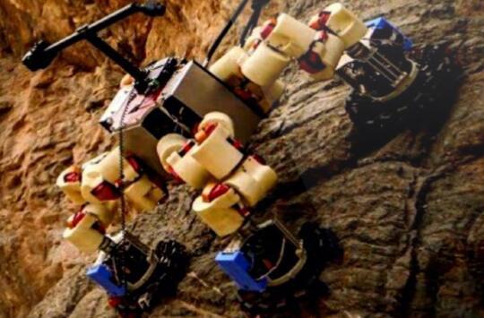 """NASA欲在火星投放无数""""蜘蛛侠"""",深入地底探测生命迹象"""