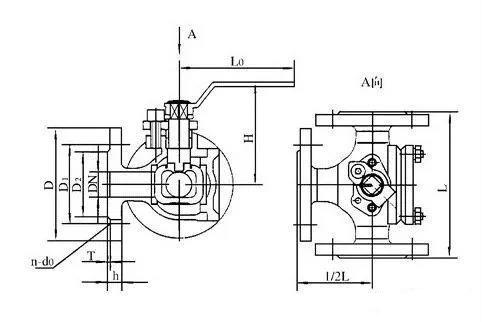 三通球阀工作原理 三通球阀l型和t型的区别