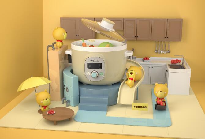 """小熊电器业绩""""失速 """"为懒人开发的小家电却被懒打败了?"""