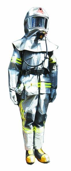 具备太空服功能的新消防服