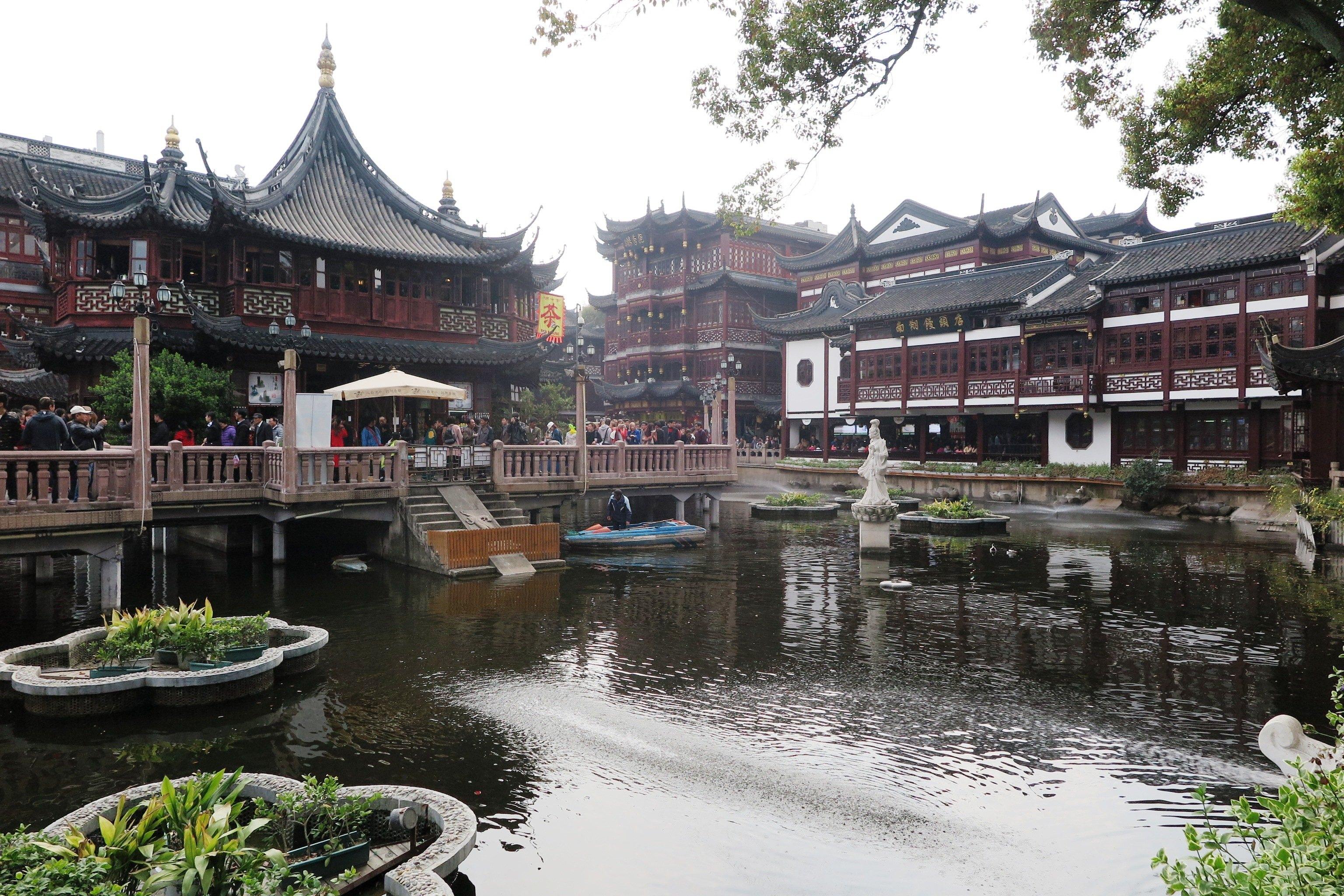 江南古典园林建筑之豫园