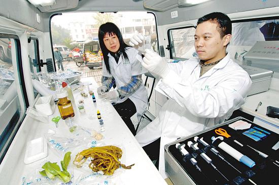 药品检测车的应用