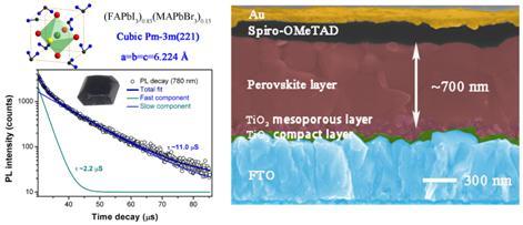 关于钙钛矿太阳能电池研究获重要进展