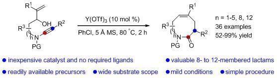 厦大在过渡金属催化的炔烃环异构化反应上获进展