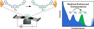 关于单分子自由基电子器件获得新进展