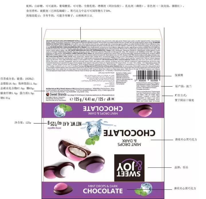 进口食品标签样本设计制作过程与注意事项