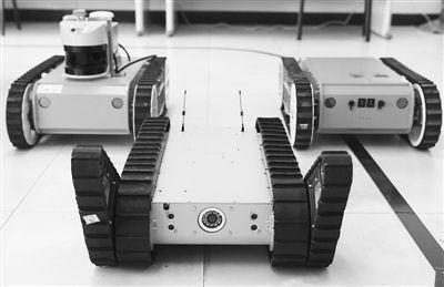 浅析AGV机器人控制技术