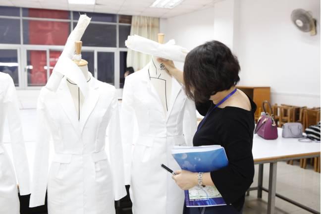 2017年东莞市职业院校纺织服装专业技能大赛