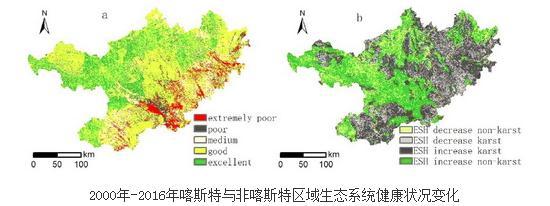 桂西北喀斯地区生态恢复工程对生态系统健康的影响研究进展