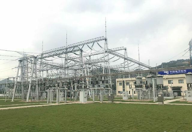 碧江变电站正式投运即南方电网首座500千伏智能变电站