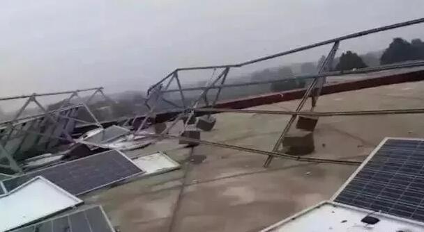 光伏电站如何抵御自然灾害侵袭?