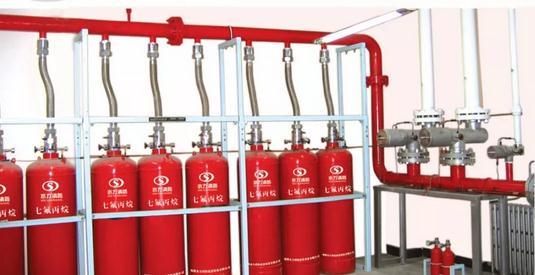 气体灭火消防器材系统、组件施工安装规定